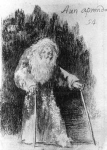 Francisco de Goya y Lucientes. Cronología: hacia 1826. Técnica: Lápiz negro; Lápiz litográfico. Soporte: Papel.