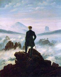 friedrich-el-viajero-contemplando-el-mar-de-nubes-1818